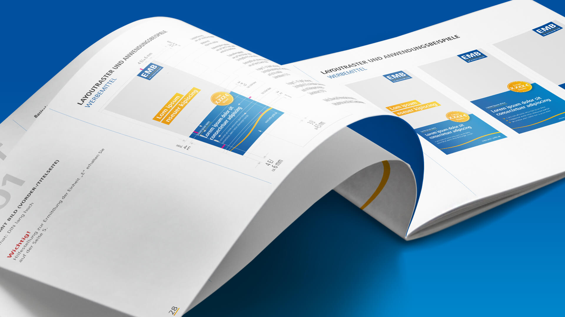 corporate design agentur style guide branding personal company profile identity konzeption copy writing werbeagentur berlin