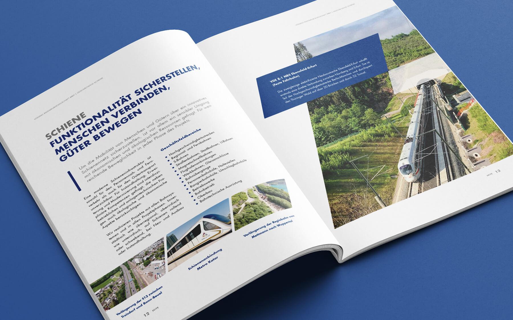 grafik design agentur layout kataloge print werbeagentur berlin corporate design layout vössing