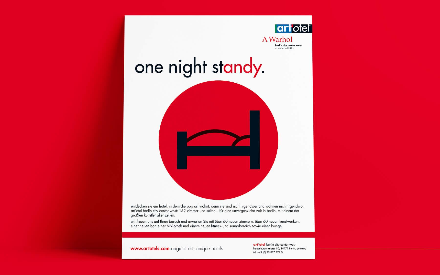 kreativagentur berlin creativ ideenschmiede factory werbeagentur berlin sued art hotel otel one night stand