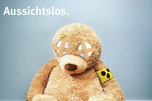 plakatwerbung grossflächen print produktion platzierung werbeagentur berlin bg etem poor teddy
