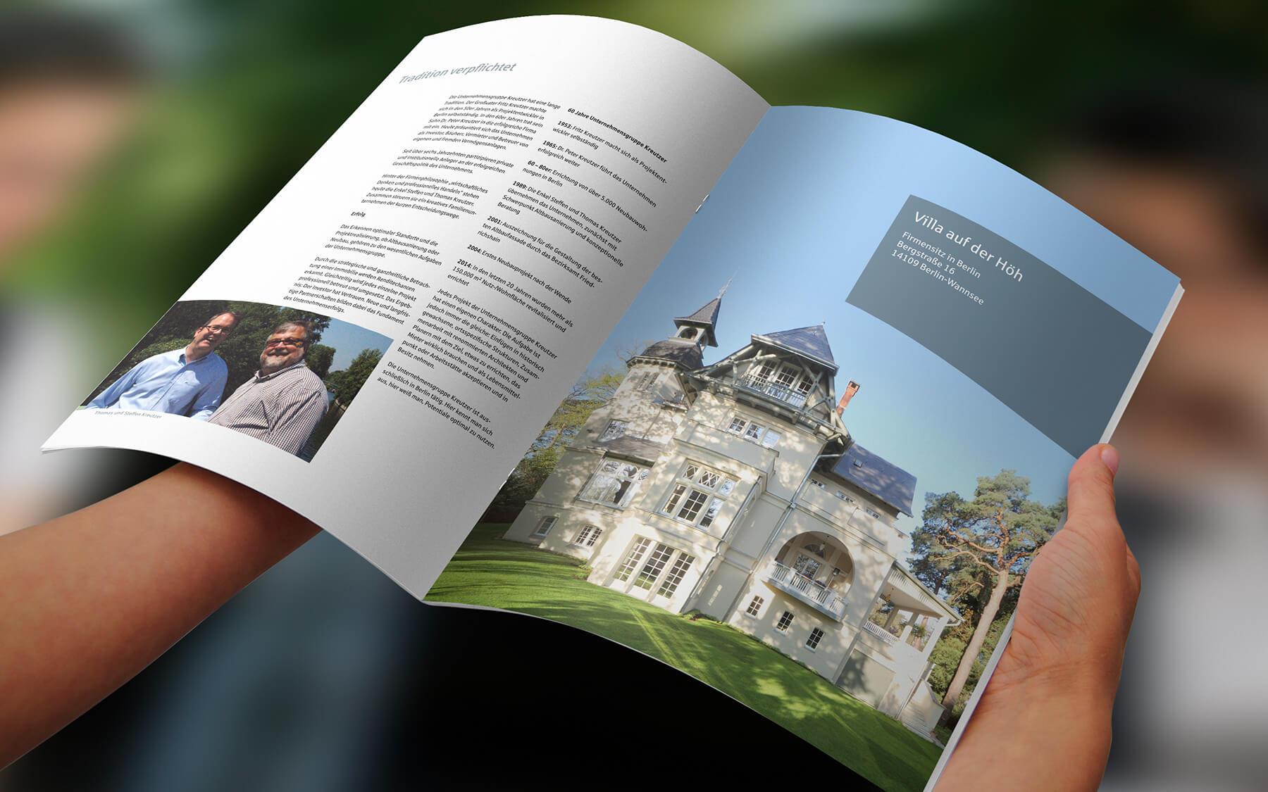 print agentur kataloge werbematerial layout stationery plakate kampagnen werbeagentur berlin corporate design