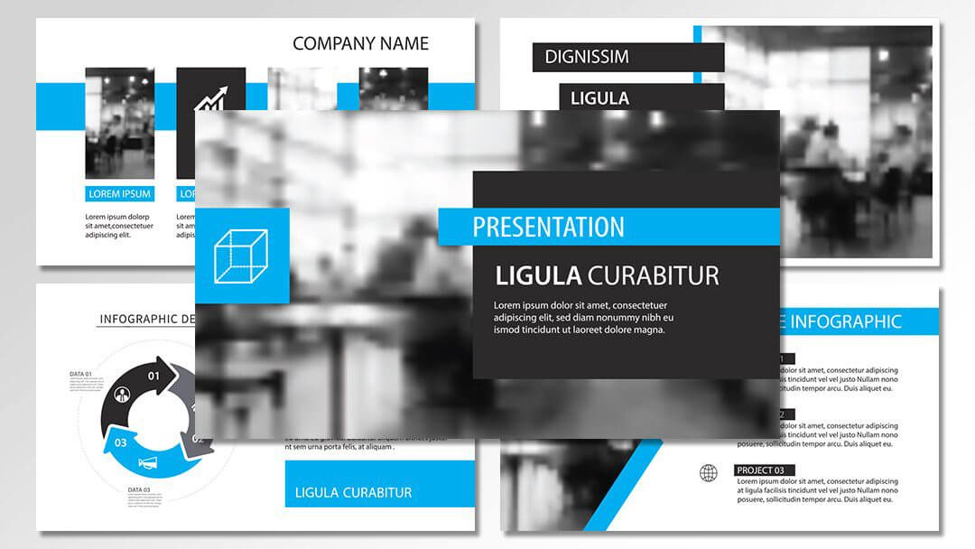 powerpoint agentur professionelle vorlagen blue content erstellung werbeagentur berlin corporate design