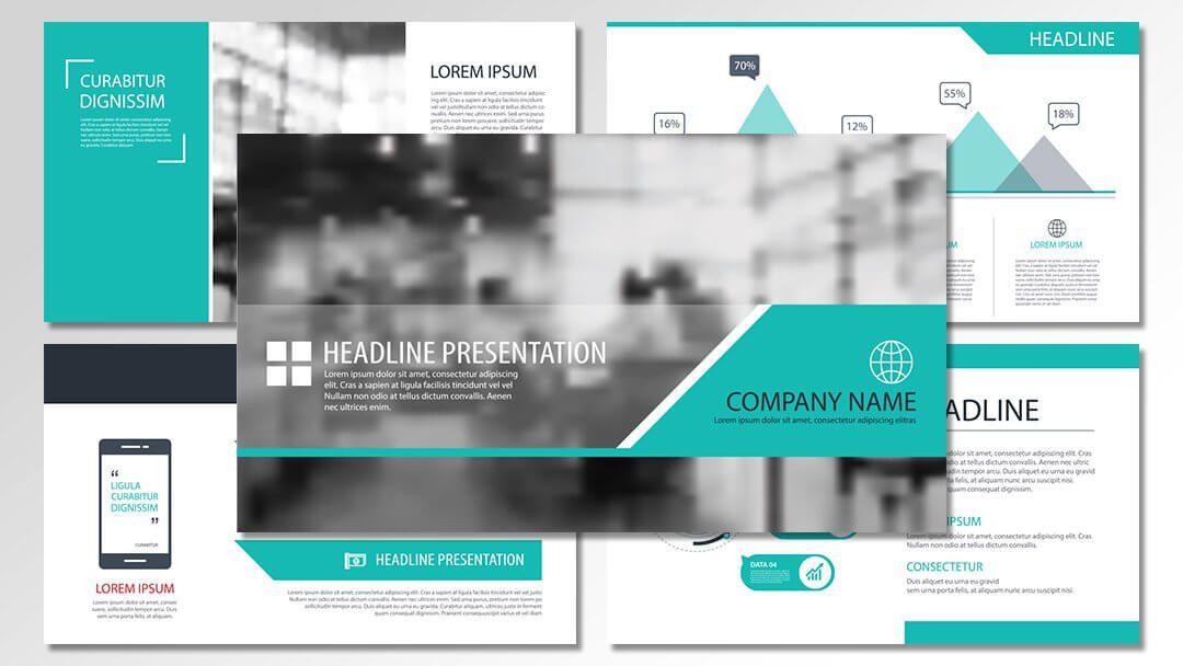 powerpoint agentur turquise professionelle vorlagen content erstellung werbeagentur berlin corporate design