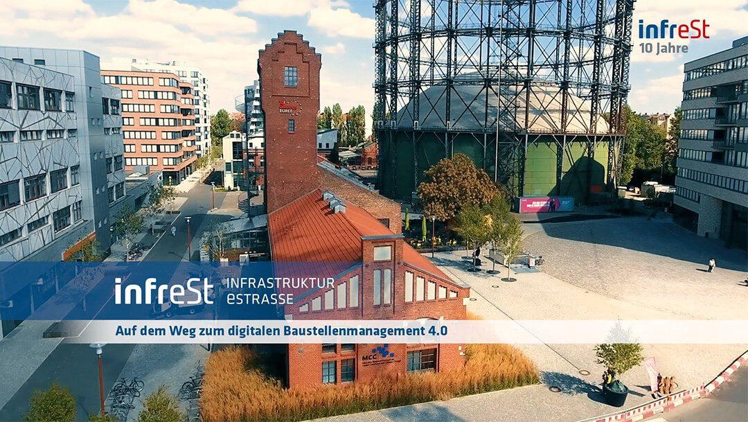 werbefilm produktion berlinwerbung commercial spot tv werbung werbeagentur berlin animation schnitt Video 10 jahre infrest auf EUREF-Campus Berlin